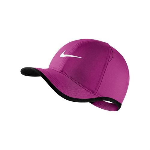 Nike Kids Aerobill Featherlight Hat - Magenta/Black 739376 531