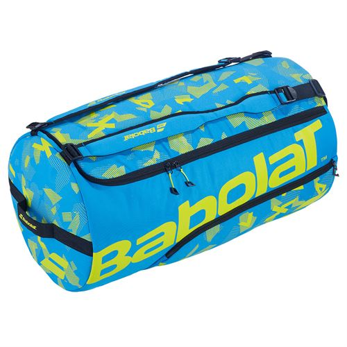 Babolat Duffel XL Bag - Blue/Yellow Lime