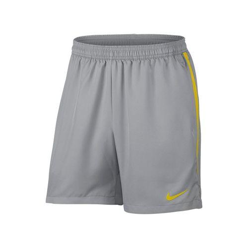 Nike Court Dry 7 Inch Short - Vast Grey/Bright Citron