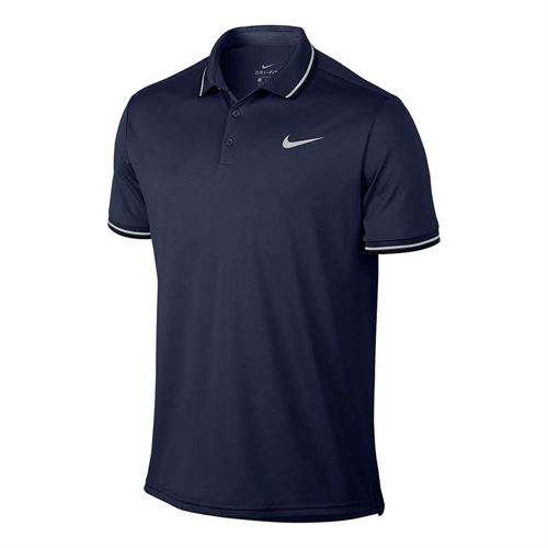 Nike Court Dry Solid Polo - Midnight Navy