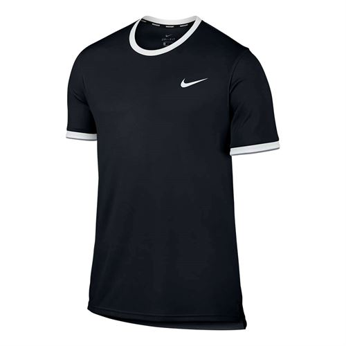 Nike Court Dry Team Crew - Black