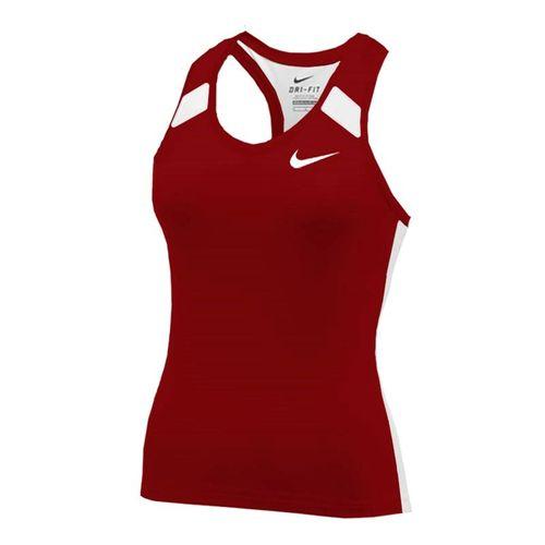 Nike Power Tank - Cardinal/White