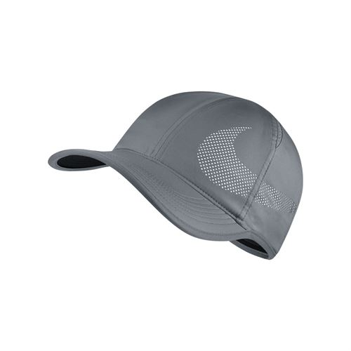 Nike Court Aerobill Featherlight Hat - Cool Grey/Pure Platinum