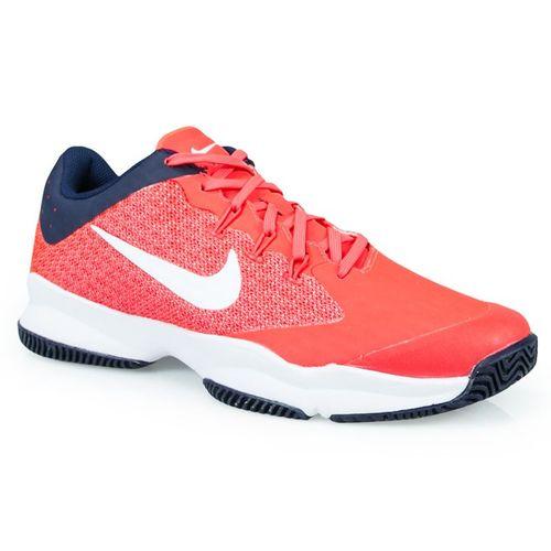c4630c82385 Nike Air Zoom Ultra Mens Tennis Shoe - Bright Crimson White Blackened Blue