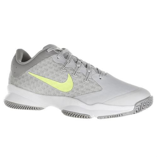 newest 9360f 1c91e Nike Air Zoom Ultra Womens Tennis Shoe - Vast Grey Volt Glow White