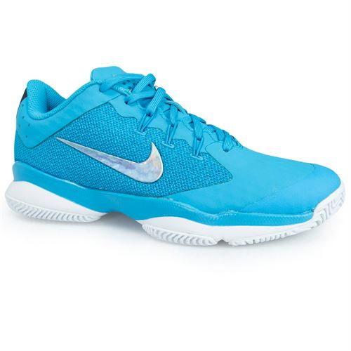 Nike Air Zoom Ultra Womens Tennis Shoe - Lt Blue Fury/Metallic Silver/White