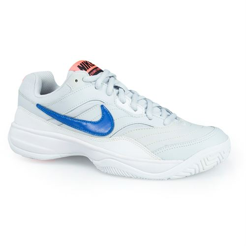 Nike Court Lite Womens Tennis Shoe - Pure Platinum/Blue Nebula/Black/Hot Lava