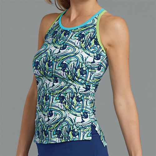 Bolle Tropical Twist Double Strap Tank - Print