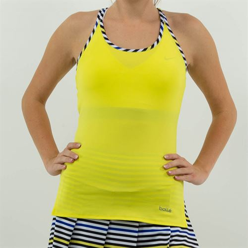 Bolle News Flash Racerback Tank Womens Dandelion 8470 28 6109