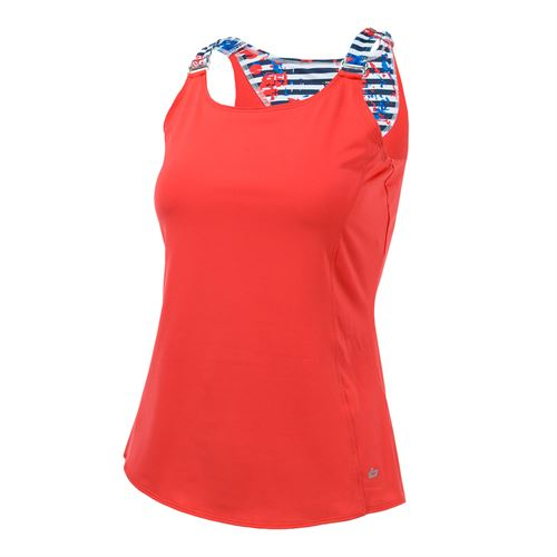 Bolle Catalina Strap Tank - Coral