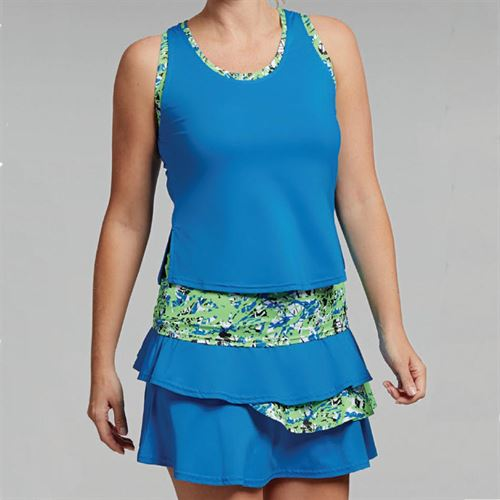 Bolle Painters Palette Layered Tank - Electric Blue