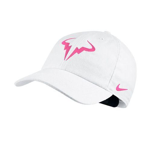 Nike Court Aerobill H86 Rafa Hat - White/China Rose
