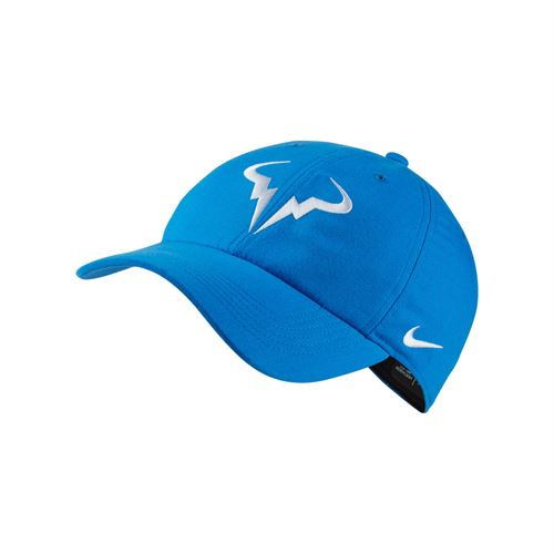Nike Court Aerobill H86 Rafa Hat - Signal Blue/White