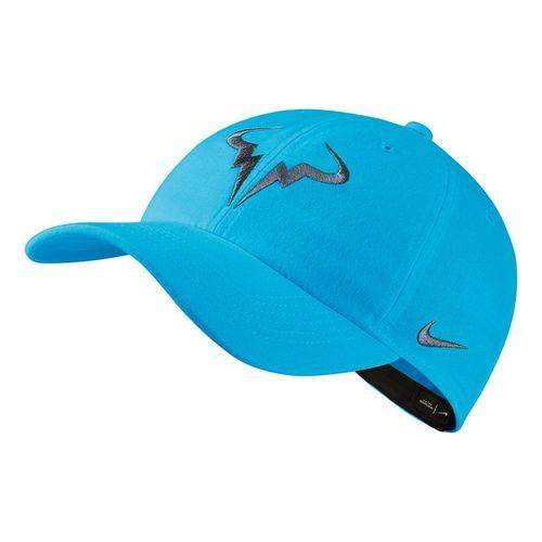 4461f4bf51b94 Nike Court Aerobill H86 Rafa Hat - Light Blue Fury Black