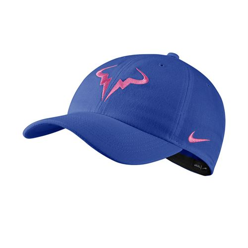 Nike Court Aerobill H86 Rafa Hat - Game Royal/China Rose