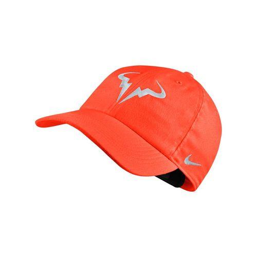 36953de0164 Nike Court Aerobill H86 Rafa Hat - Crimson Pure Platinum