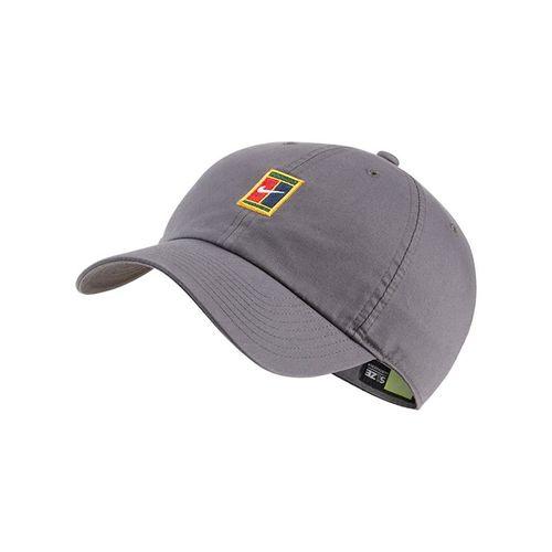 Nike Heritage 86 Court Logo Tennis Hat - Dark Grey