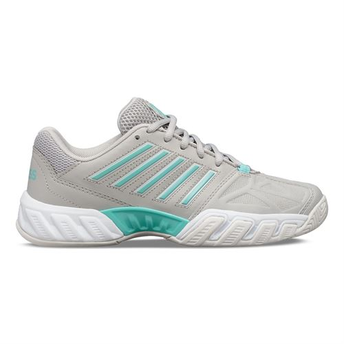 K Swiss Junior Bigshot Light 3 Tennis Shoe Vapor Blue/Aruba Blue/White 85366 460