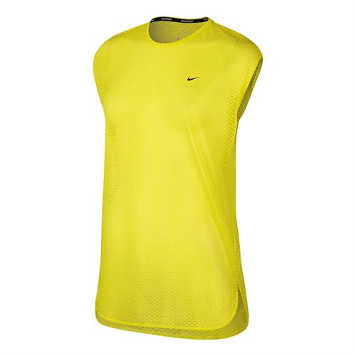 Nike Court Dry Tennis Top - Sonic Yellow