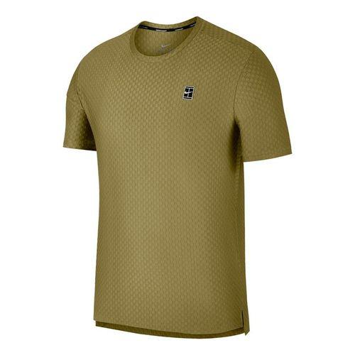 Nike Court Checkered Crew - Camper Green/Black
