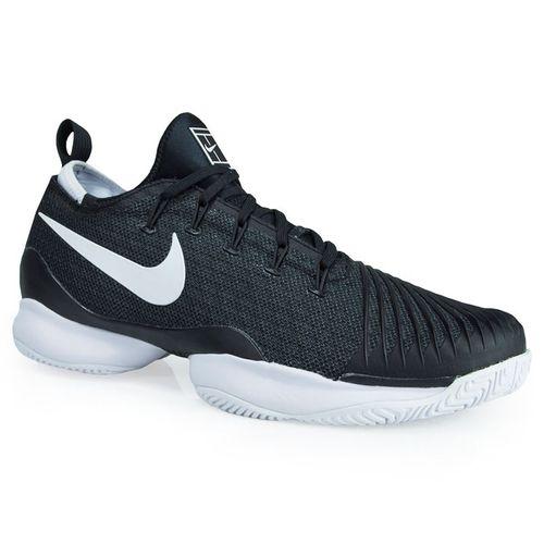 Nike Air Zoom Ultra React Tennis Shoe - Black/White Anthracite