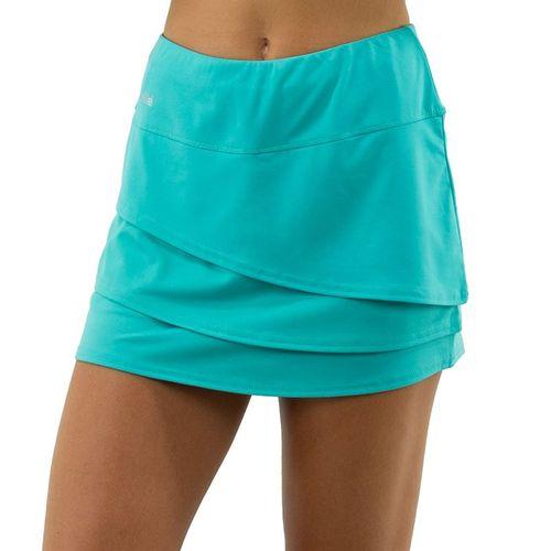 Bolle Magnolia Layered A Line Skirt Womens Sea Breeze 8606 30 9269