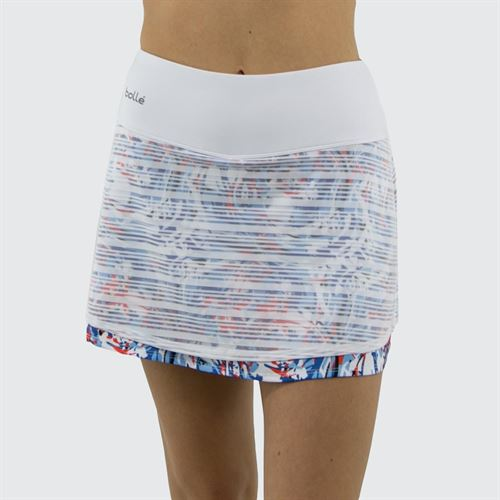 Bolle Maritime Blues 14 Inch Skirt Womens White 8632 28 0110