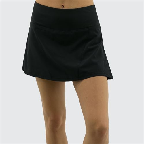 Bolle Back Pleated Tennis Skirt - Black
