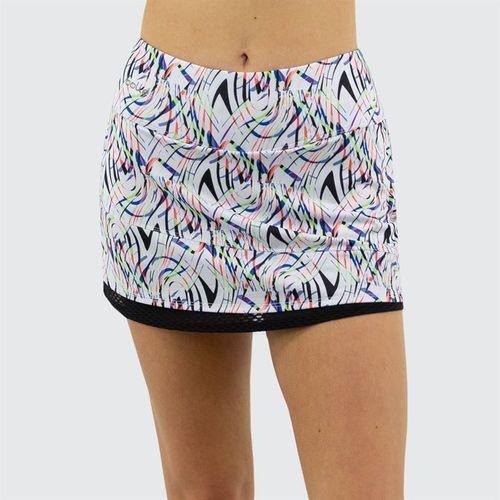 Bolle Brush Strokes Skirt Womens White 8675 29 0110