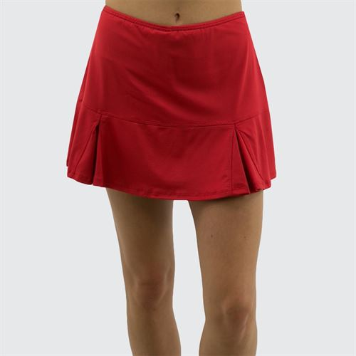 Bolle Essentials Flounce Skirt - Red