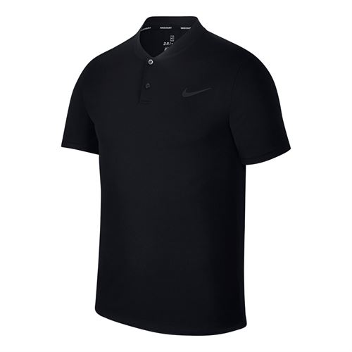 Nike Court Advantage Polo - Black ea8ac08671f0