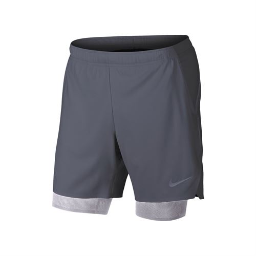 Nike Court Flex Ace Pro Short - Light Carbon/Provence Purple/White