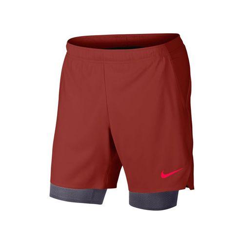 276a9f2510fba Nike Court Flex Ace Pro Short - Dune Red Gridiron White