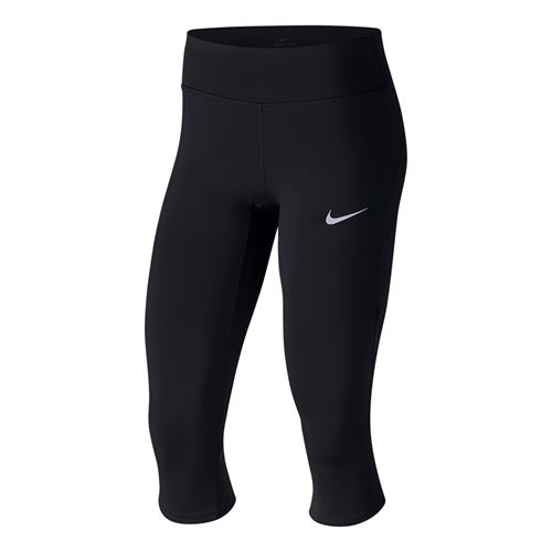 Nike Power Epic Lux Running Capri - Black