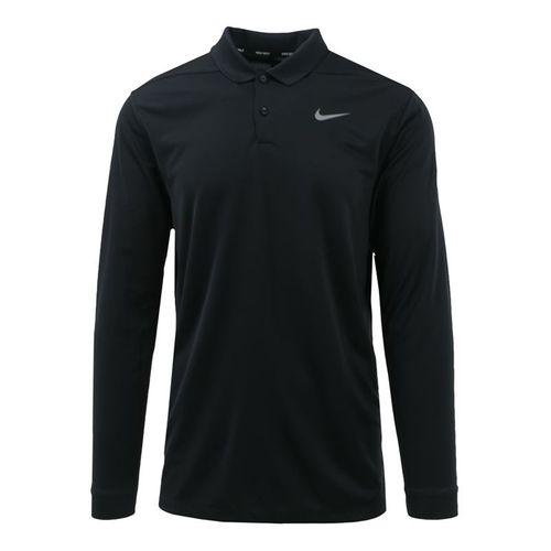 Nike W&S Dry Victory Long Sleeve Polo Mens Black 891234 010