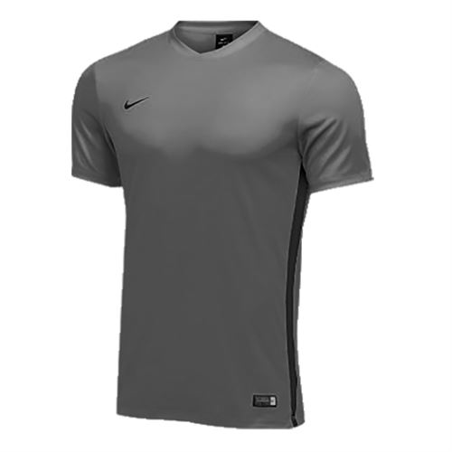Nike Dry Tiempo Premier Short Sleeve Jersey - Pewter/Black