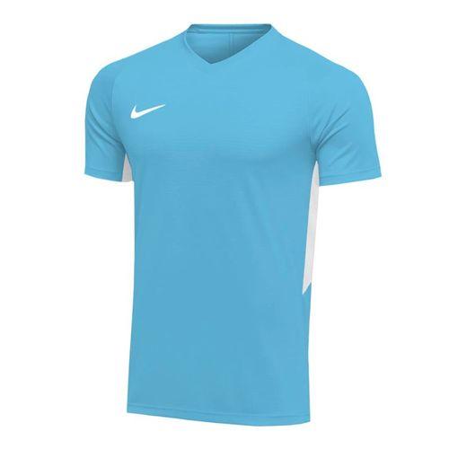Nike Dry Tiempo Premier Short Sleeve Jersey - Valor Blue/White