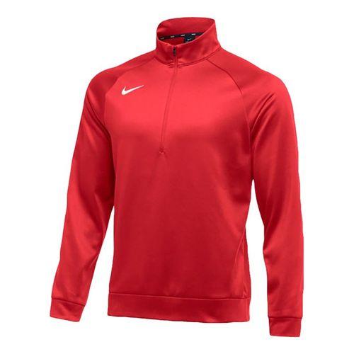 Nike Therma 1/4 Zip - Scarlet/White