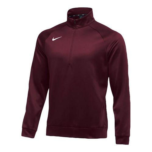 Nike Therma 1/4 Zip - Maroon/White