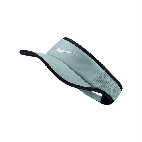 Nike Court Aerobill Feather Light Visor - Light Pumice/ Black