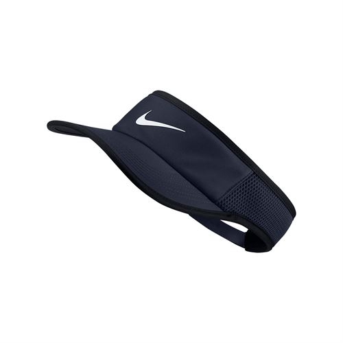 Nike Court Aerobill Featherlight Visor - Obsidian 899654 451