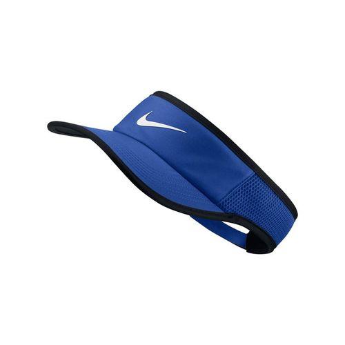 Nike Court Aerobill Featherlight Visor - Game Royal/Black/White