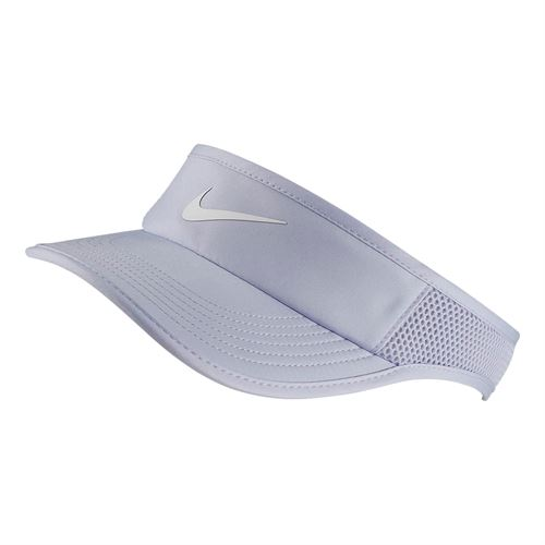 4ac6e39db40 Nike Womens Court Aerobill Visor - Oxygen Purple White