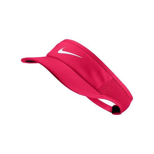 Nike Womens Court Aerobill Visor - Racer Pink/Black/White