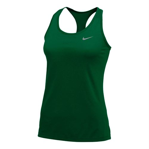 Nike Team Dry Balance Tank 2.0 Womens Gorge Green/Cool Grey 915033 341