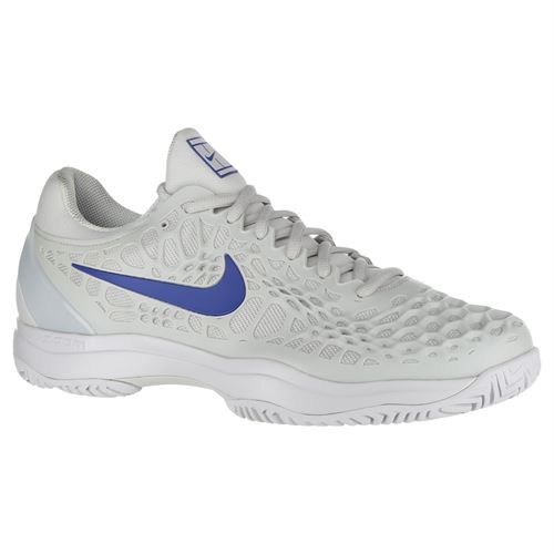 new style e4e03 93029 Nike Zoom Cage 3 Mens Tennis Shoe - Vast Grey Indigo Force