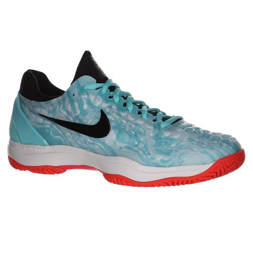 bfb6dc835980e Nike Zoom Cage 3 Mens Tennis Shoe - Aurora Green Black Teal Tint