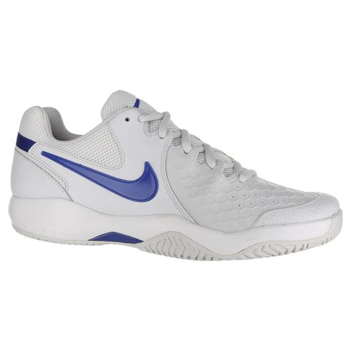 8118058d77f Nike Air Zoom Resistance Mens Tennis Shoe - Vast Grey Indigo Force