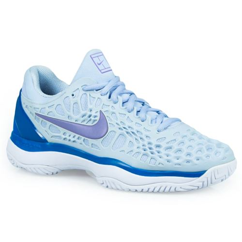 Nike Zoom Cage 3 Womens Tennis Shoe - Royal Tint Monarch Purple Military  Blue 2824aae4dc00