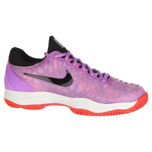 huge discount 3206d 154d3 Nike Zoom Cage 3 Womens Tennis Shoe - Active Fuchsia Black Psychic Pink